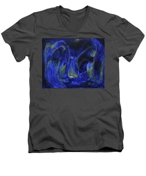 Buzzards Banquet Men's V-Neck T-Shirt