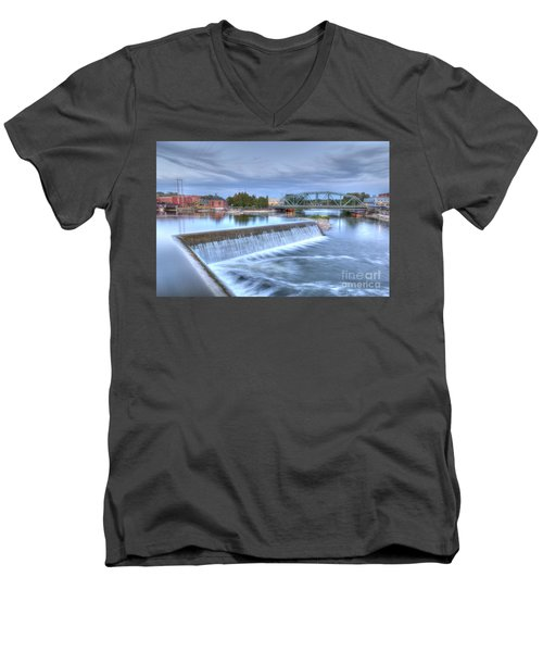 B'ville Bridge Men's V-Neck T-Shirt