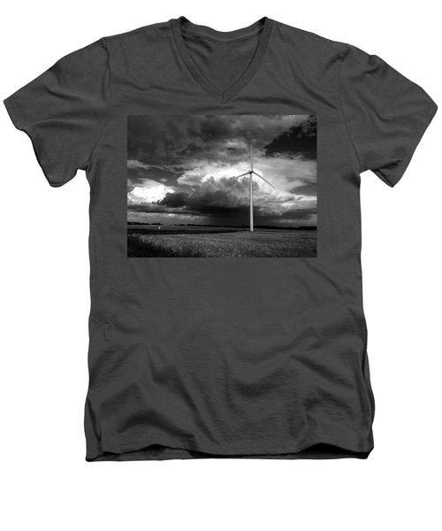 Bw Mill Men's V-Neck T-Shirt