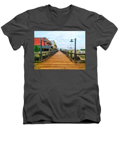 By George Men's V-Neck T-Shirt