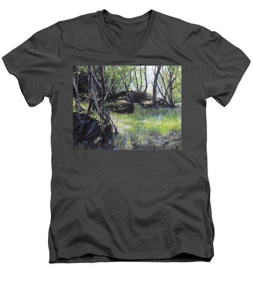 By The Farm Men's V-Neck T-Shirt
