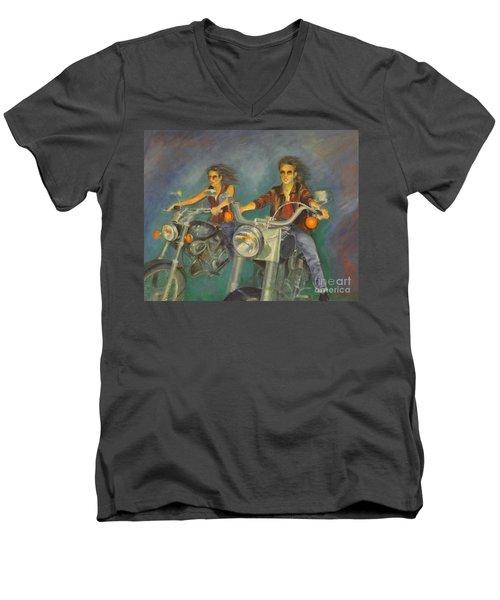 Byker Men's V-Neck T-Shirt