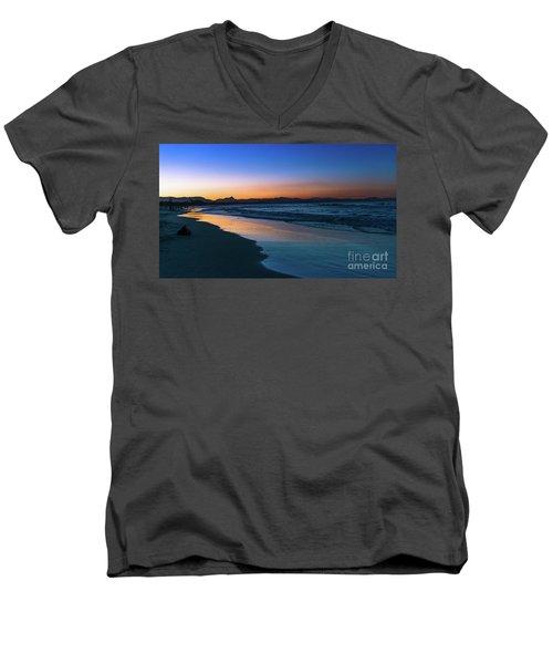 Byron Bay After The Sun Sets Men's V-Neck T-Shirt