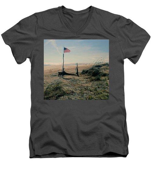C To Shining C Men's V-Neck T-Shirt