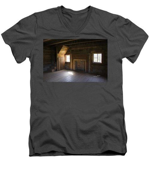 Cabin Home Men's V-Neck T-Shirt