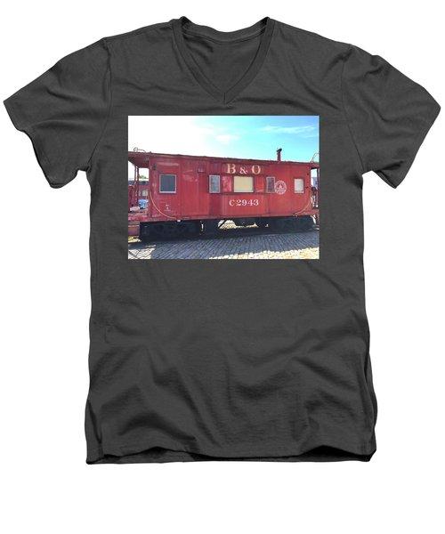 Caboose Men's V-Neck T-Shirt