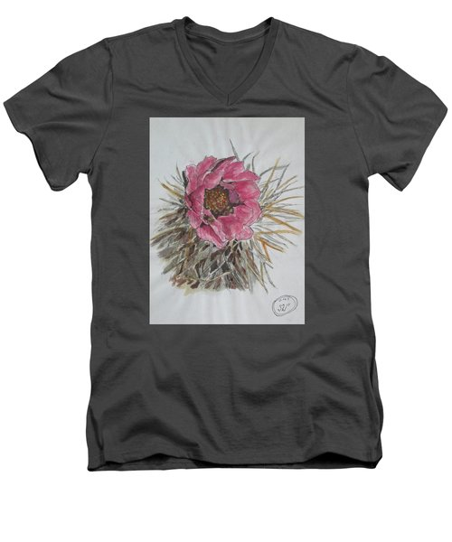 Cactus Joy Men's V-Neck T-Shirt