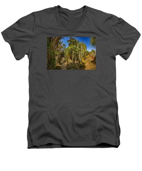 Cactus Jungle Men's V-Neck T-Shirt