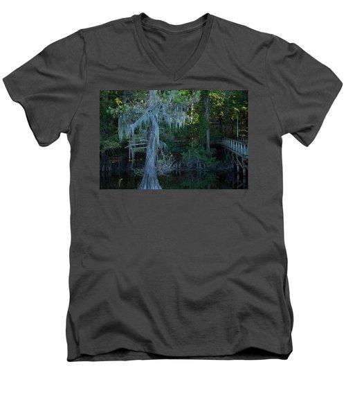 Caddo Lake #1 Men's V-Neck T-Shirt