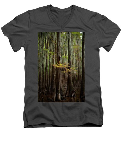 Caddo Lake #5 Men's V-Neck T-Shirt