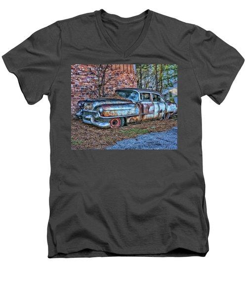 Cadilliac Men's V-Neck T-Shirt