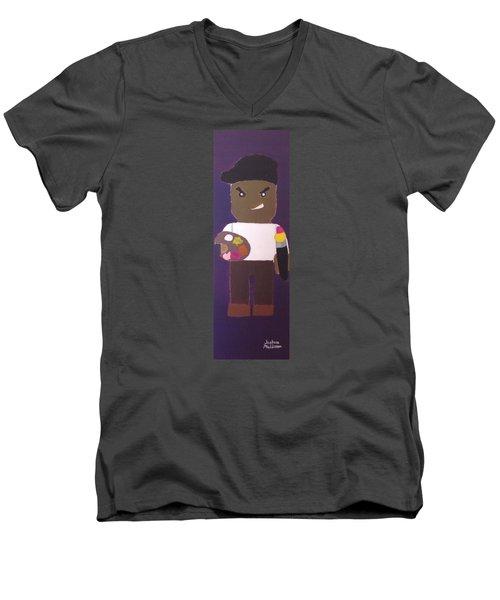 Cadmium Artisto Men's V-Neck T-Shirt