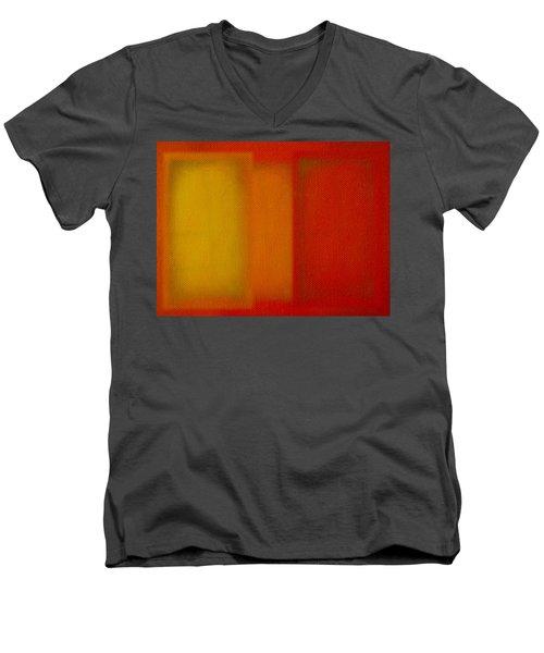 Cadmium Lemon Men's V-Neck T-Shirt