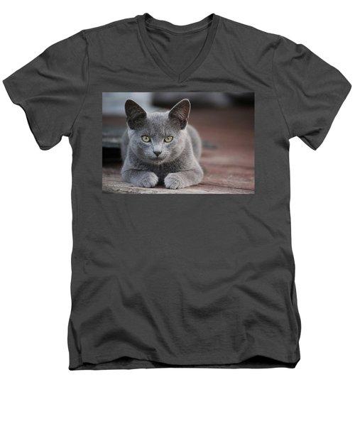 Caesar Men's V-Neck T-Shirt
