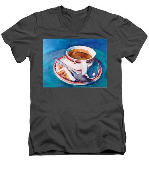 Cafe Con Leche Men's V-Neck T-Shirt