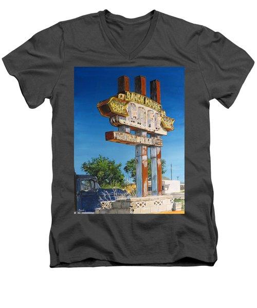 Cafe Men's V-Neck T-Shirt