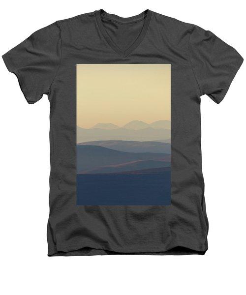 Cairngorms Sunset Men's V-Neck T-Shirt