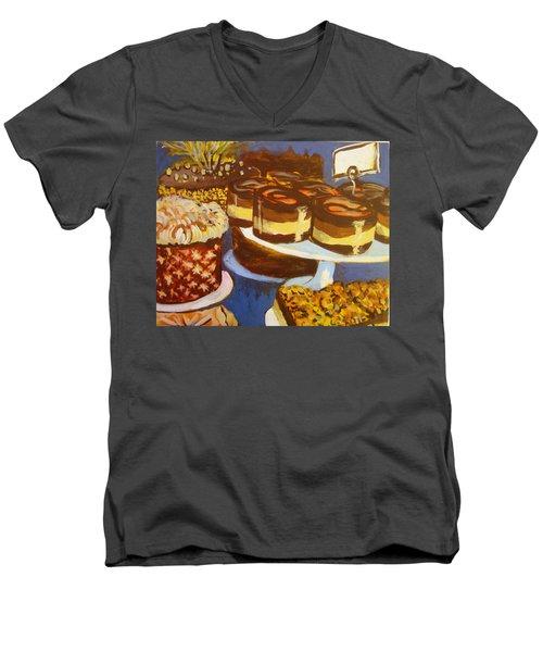 Cake Case Men's V-Neck T-Shirt