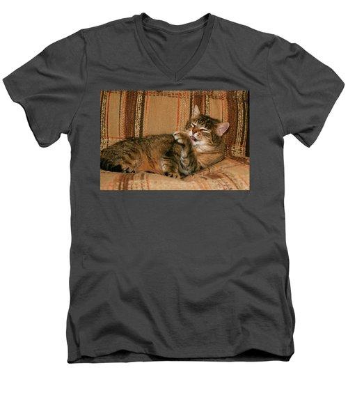 Cal-5 Men's V-Neck T-Shirt