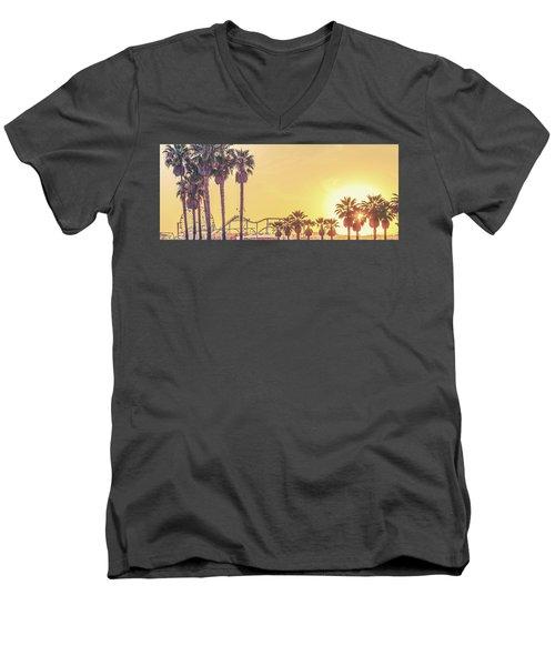 Cali Vibes Men's V-Neck T-Shirt