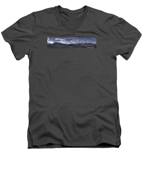 Calico Basin Panorama Men's V-Neck T-Shirt