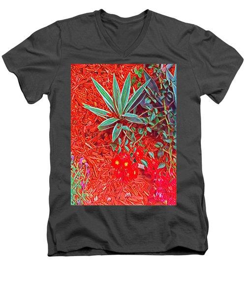 Caliente Men's V-Neck T-Shirt