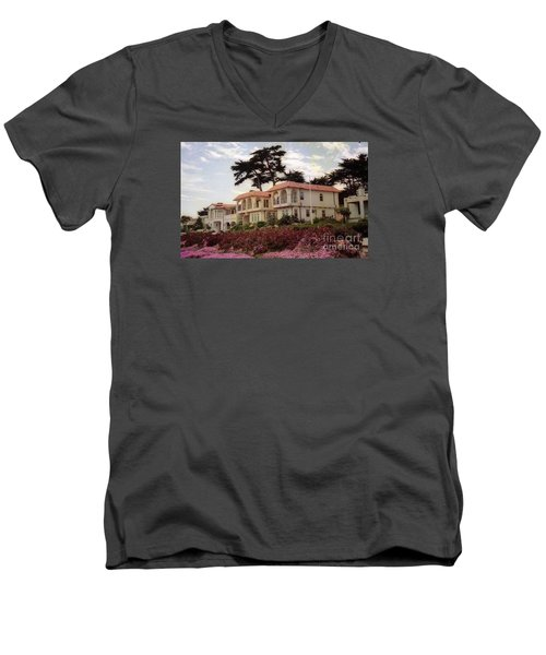California Coastal Hotel Men's V-Neck T-Shirt