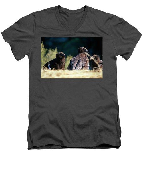 California Condors Men's V-Neck T-Shirt