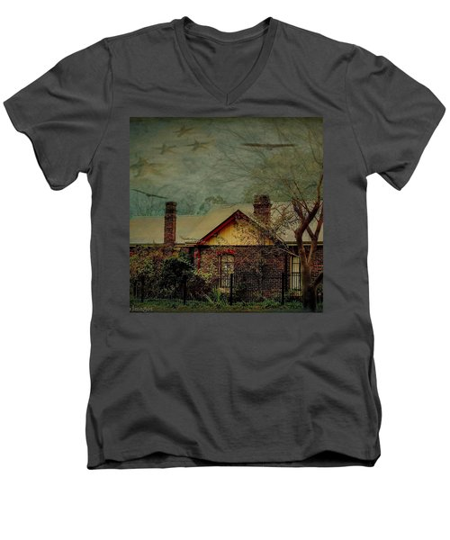 Men's V-Neck T-Shirt featuring the photograph California Dreaming by Wallaroo Images