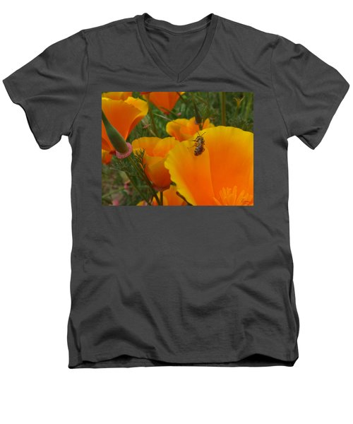 California Love Men's V-Neck T-Shirt