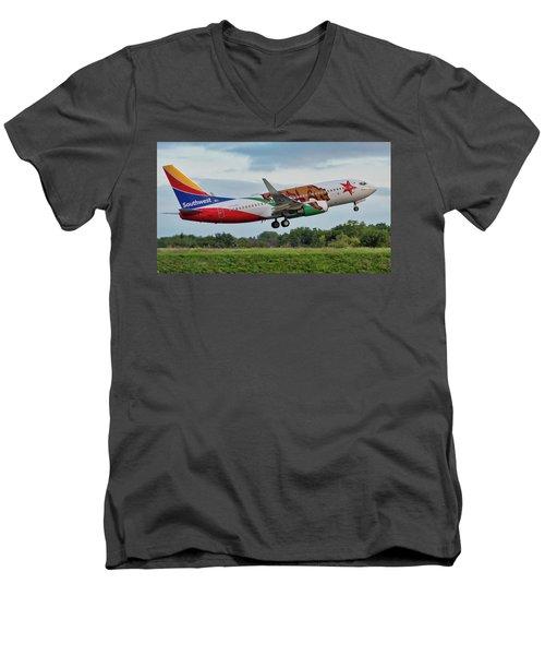 California One Men's V-Neck T-Shirt