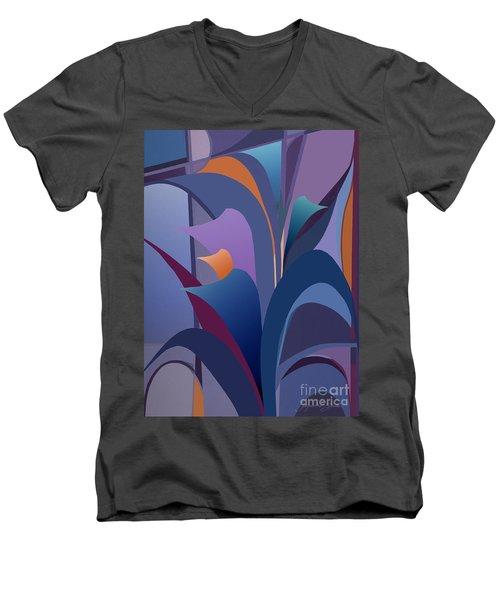 Calla Collection Men's V-Neck T-Shirt