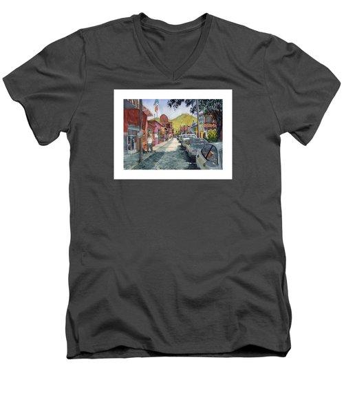 Calle Turistica Mx Men's V-Neck T-Shirt