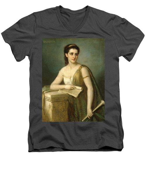 Calliope Men's V-Neck T-Shirt