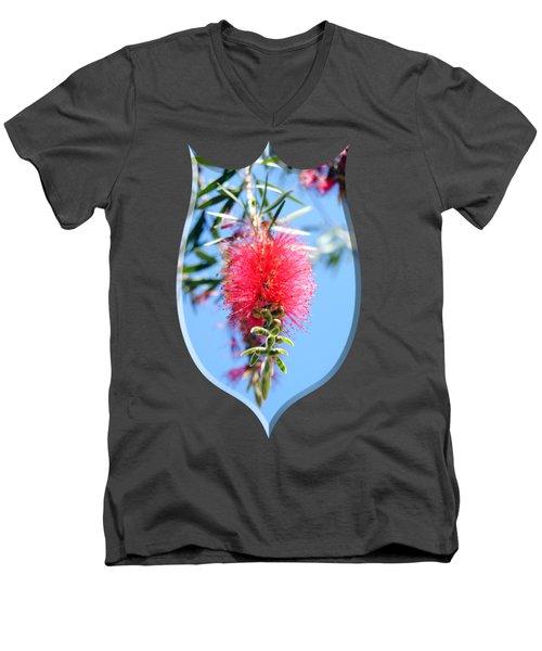 Callistemon - Bottle Brush T-shirt 1 Men's V-Neck T-Shirt
