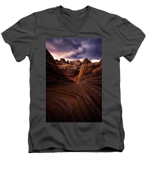 Calm Before The Storm Men's V-Neck T-Shirt
