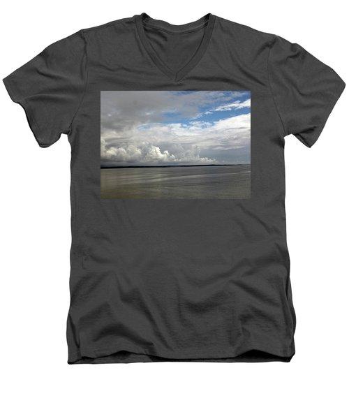 Calm Sea Men's V-Neck T-Shirt