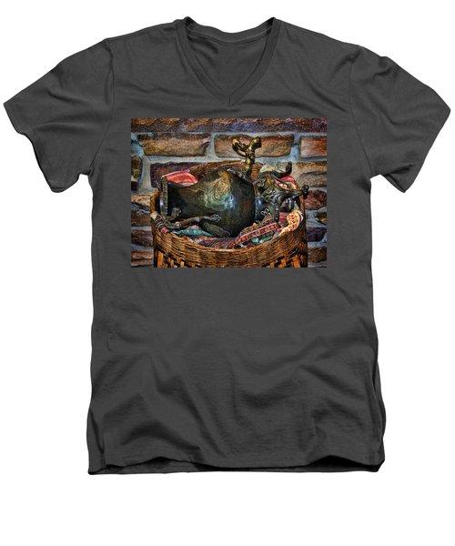 Camelback 8846 Men's V-Neck T-Shirt