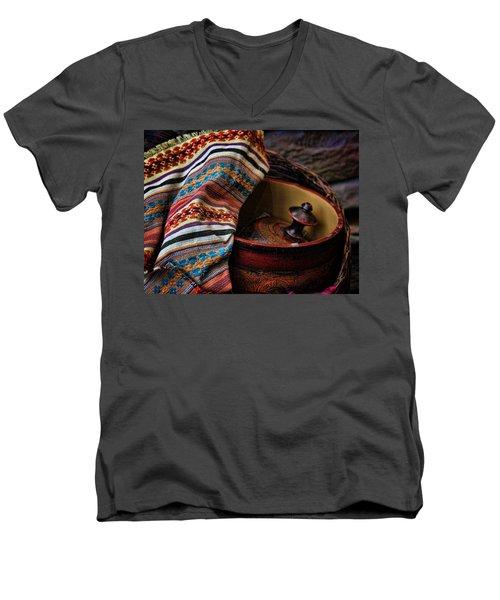 Camelback 8851 Men's V-Neck T-Shirt