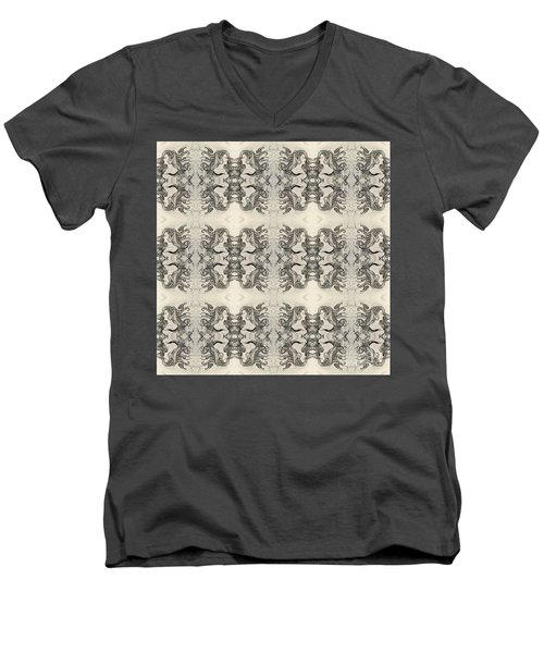 Cameo Mirror Image Men's V-Neck T-Shirt