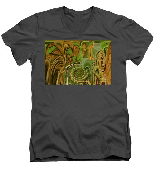 Camo Men's V-Neck T-Shirt