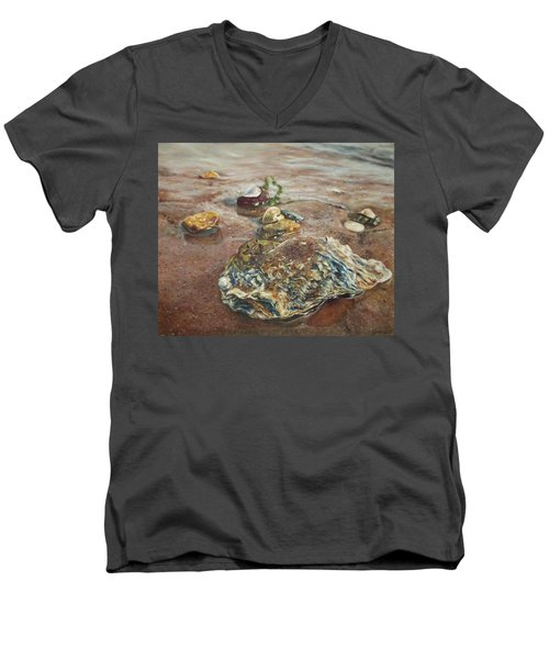 Camouflage Men's V-Neck T-Shirt