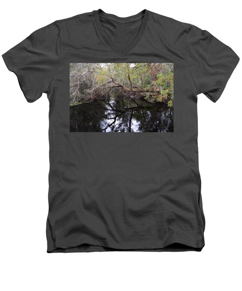 Camp Canal Men's V-Neck T-Shirt