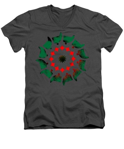 Camp Fire Men's V-Neck T-Shirt