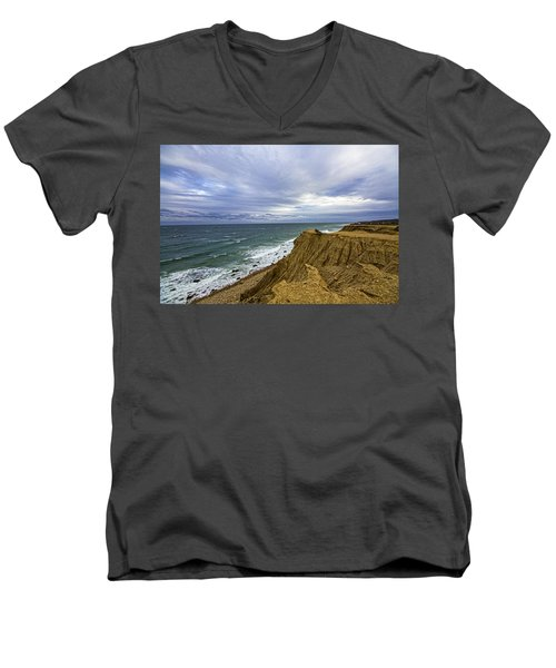 Camp Hero Bluffs Men's V-Neck T-Shirt
