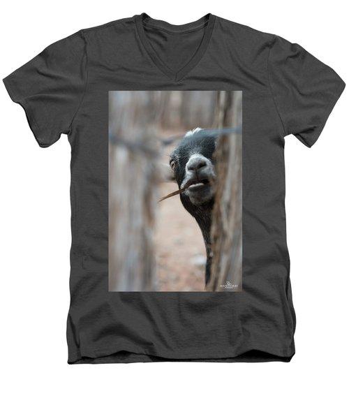 Can I Play? Men's V-Neck T-Shirt