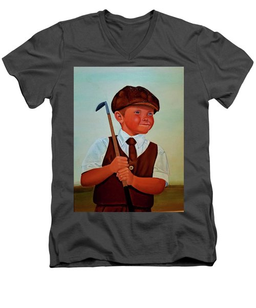 Can Not Wait To Turn Pro Men's V-Neck T-Shirt