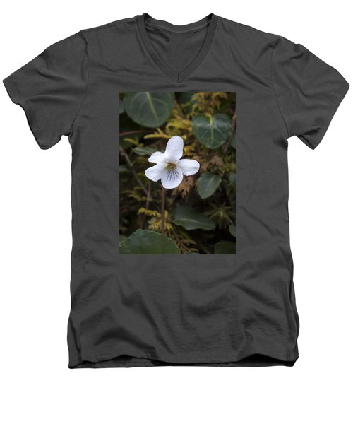 Can Men's V-Neck T-Shirt