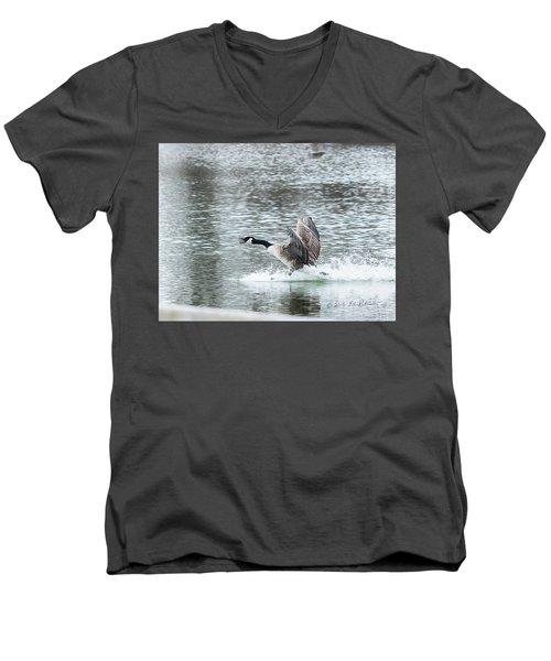 Canada Goose Landing 2 Men's V-Neck T-Shirt