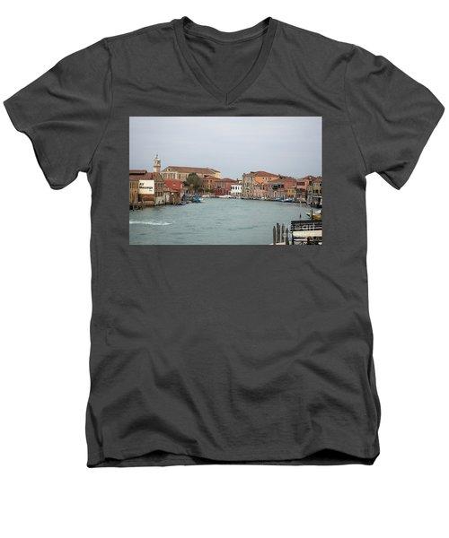 Canal Of Murano Men's V-Neck T-Shirt
